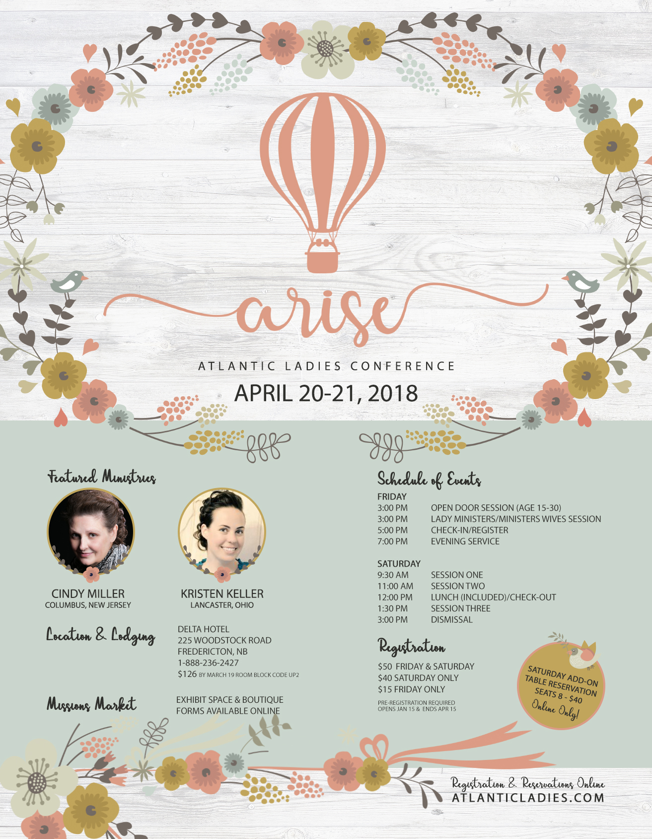 Ladies Conference 2018 – Atlantic District United Pentecostal Church