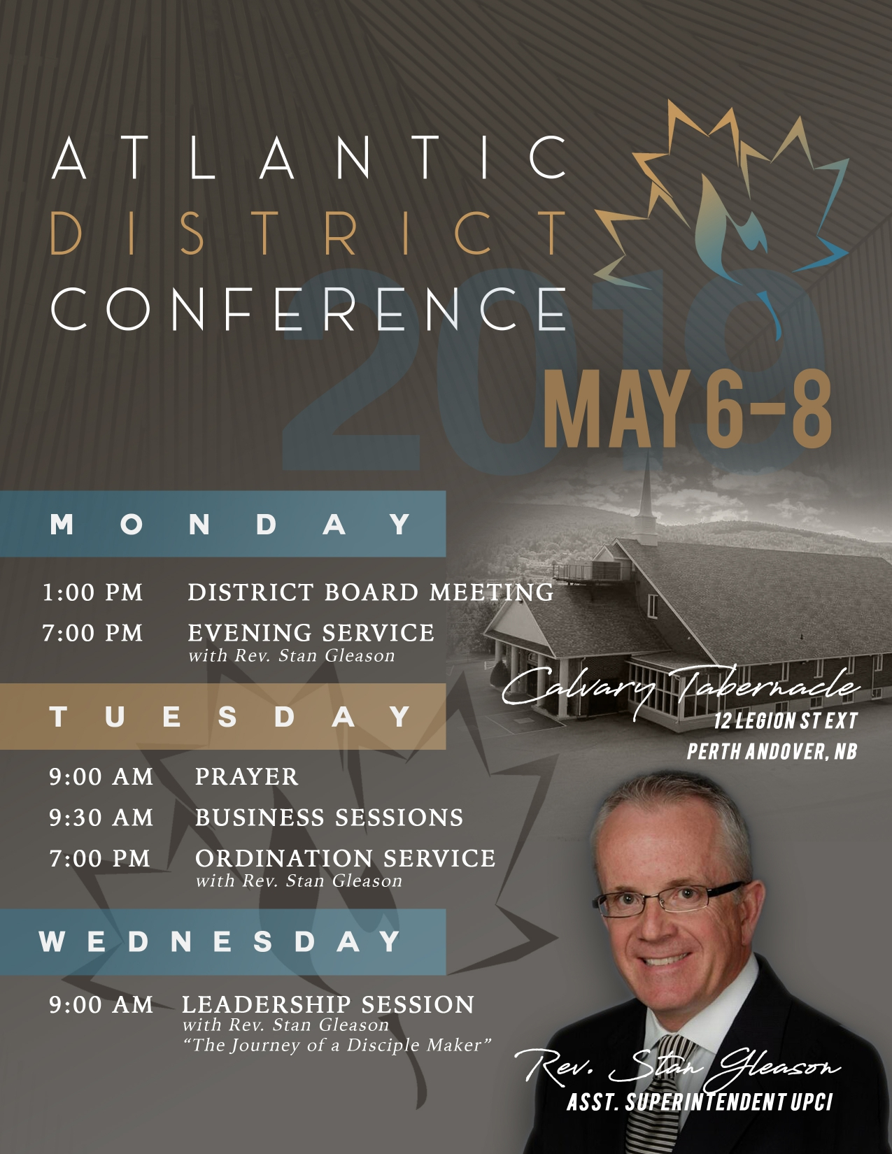 District Conference 2019 – Atlantic District United Pentecostal Church